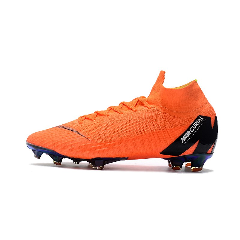 9c759ca70ae5 Nike Soccer Shoes Orange Color