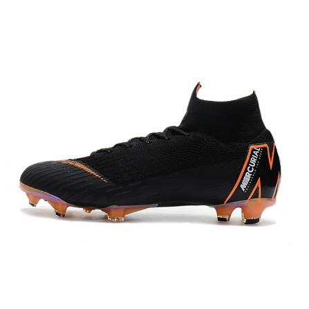 Nike Soccer Shoes Black Color