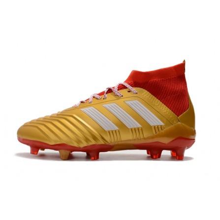 Adidas Soccer Shoes Golden Color