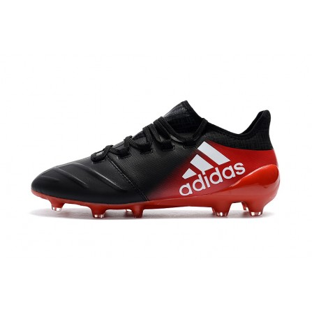 Adidas Soccer Shoes Black Red Color
