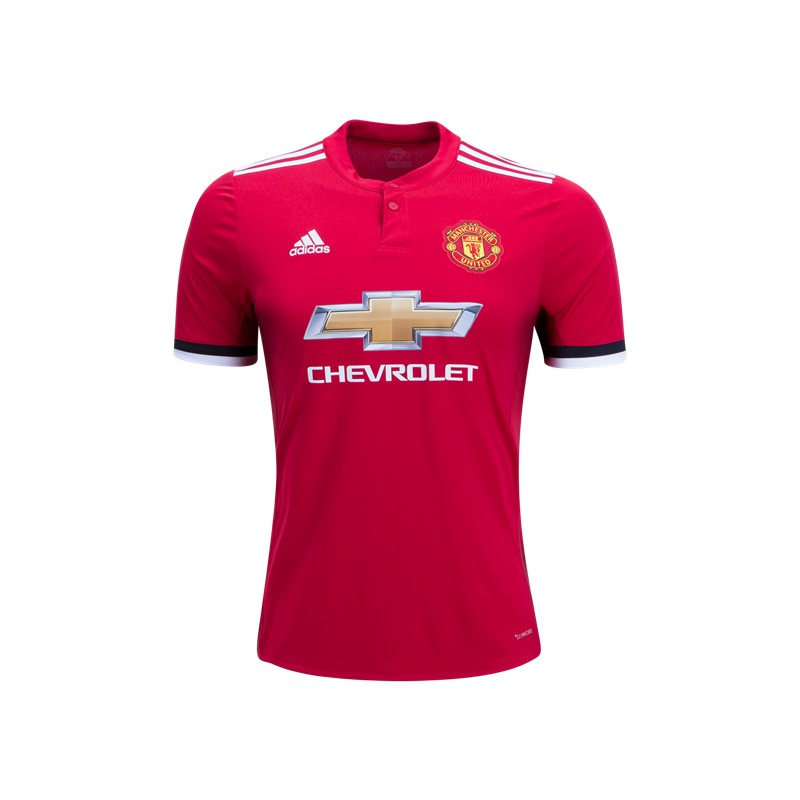 reputable site 9062d 5fb09 Manchester United Soccer Jersey - Home