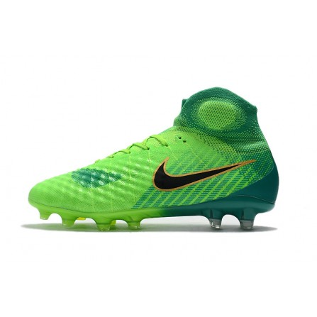 Nike Soccer Shoes Green Color